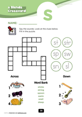 s blend crossword